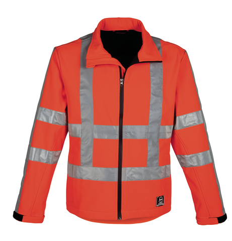 HAVEP® High Visibility Softshell 40058 fluo oranje