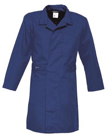 HAVEP® Basic Lange jas/Stofjas Rafblauw