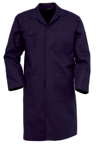 HAVEP® Basic Lange jas/Stofjas Marineblauw