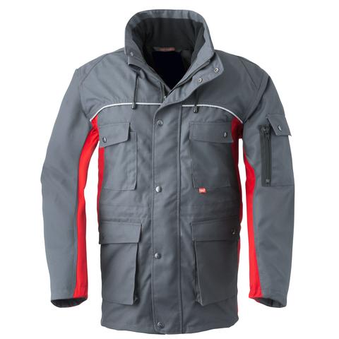 HAVEP® 4seasons Parka Charcoal grey/rood