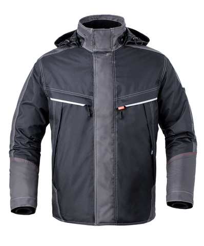 HAVEP® Attitude Parka 50171 zwart/charcoal grijs