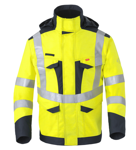 HAVEP® Multi Shield Parka 50248 fluo geel/marine