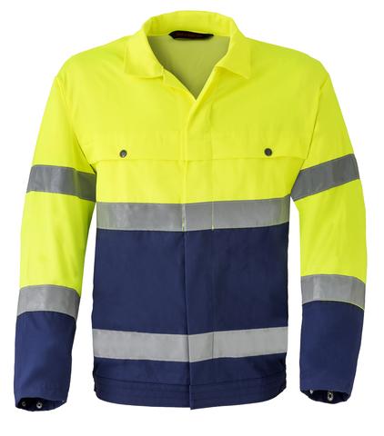 HAVEP® High Visibility Jack/Blouson 5105 Marine/fluo geel