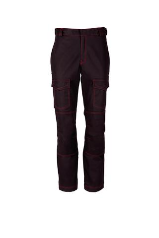 HAVEP® Guard Werkbroek 80030 Zwart/rood