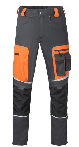 HAVEP® Image Werkbroek Charcoal/oranje