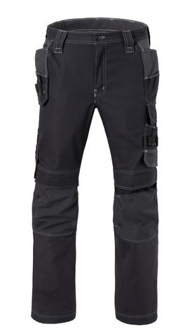 HAVEP® Attitude Werkbroek zwart/charcoal grijs