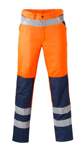 HAVEP® High Visibility Werkbroek 84010 fluo oranje/marineblauw