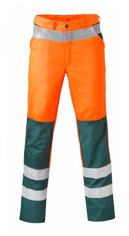 HAVEP® High Visibility Werkbroek 8410 fluo oranje/flessengroen