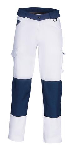 HAVEP® Worker Werkbroek 8657 Wit/marineblauw