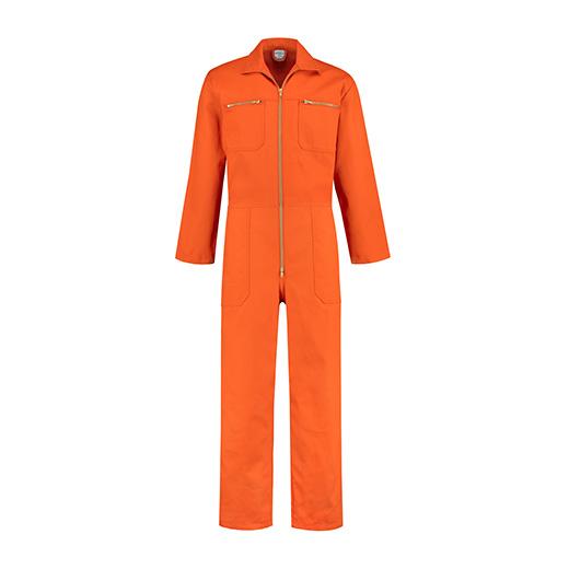 Bestex Overall oranje met rits