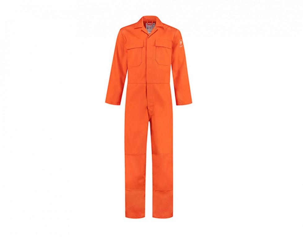 Bestex Overall oranje vlamvertragend AS