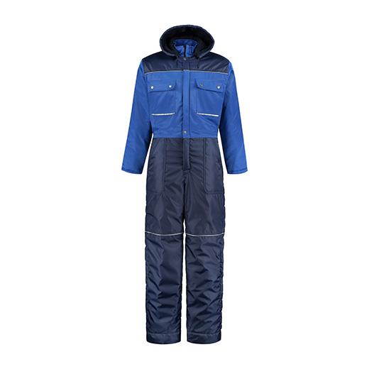 Bestex Winteroverall korenblauw-navy