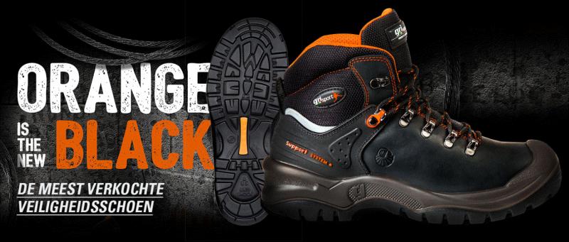 Grisport Safety 803 L Oranje/Zwart