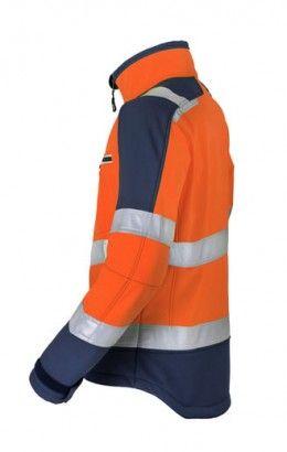 HAVEP® High Visibility Softshell 50214 fluo oranje/marine