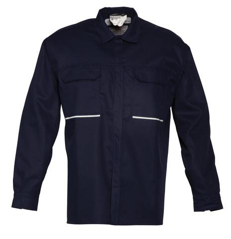 HAVEP® 4safety Hemd 1648 lange mouw Marineblauw