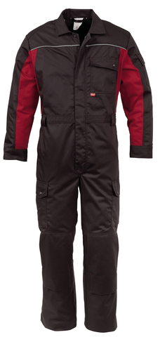 HAVEP® 4seasons Overall Charcoal grey/rood