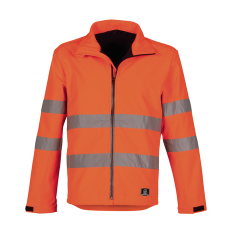 HAVEP® High Visibility Softshell 40057 fluo oranje