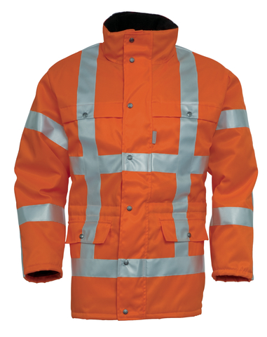 HAVEP® High Visibility Parka 4155 Fluo oranje