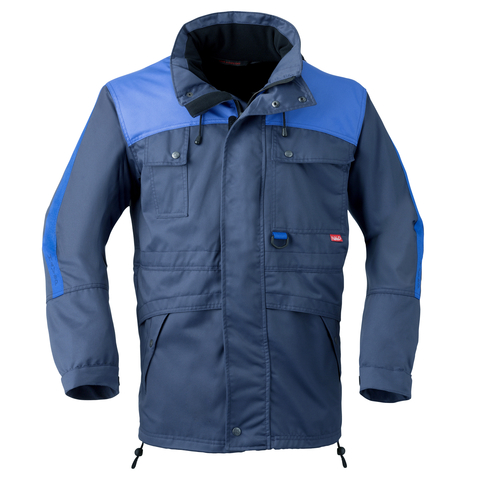HAVEP® Construction Line Parka all season Marineblauw/korenblauw