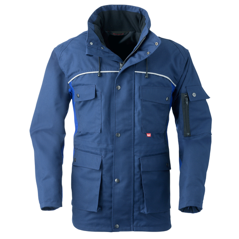 HAVEP® 4seasons Parka Marineblauw/korenblauw