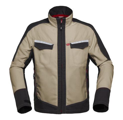 HAVEP® Attitude Korte jas/Vest zand/charcoal grijs