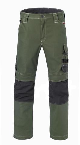 HAVEP® Attitude Werkbroek bosbouw groen/charcoal grijs