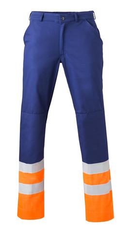 HAVEP® High Visibility Werkbroek 8397 Marineblauw/fluo oranje