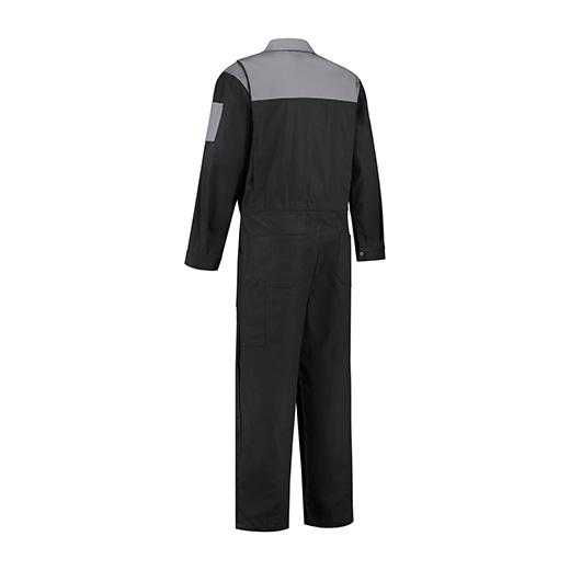 Bestex Overall zwart-grijs  2-kleurig