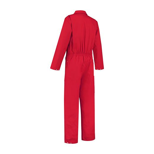 Bestex Overall rood met rits
