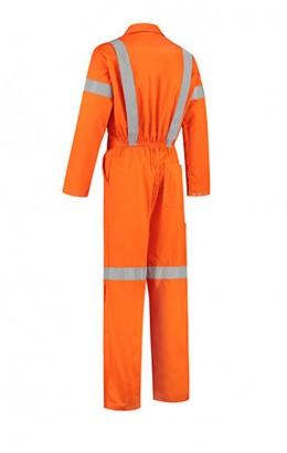 Bestex Hoge zichtbaarheidsoverall oranje