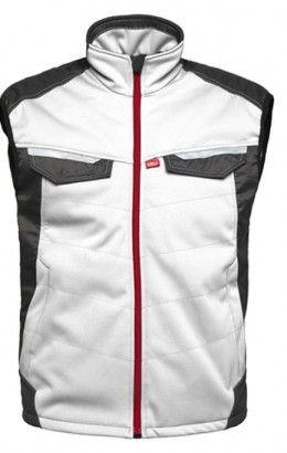 HAVEP® Attitude Bodywarmer 50184 wit/charcoal grijs